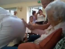 VIDEO: 100 Year Old Grandma Gets Stripper for Her Birthday!