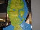 PHOTO: Giant Portrait of Steve Jobs Done with Post-It Notes