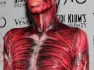 Heidi Klum's muscular Halloween costume