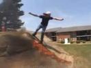 VIDEO: Skater Boy Gets Set on Fire