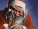 IMAGE: Santa Sure Loves his Poppers