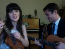 "VIDEO: ""What Are You Doing New Years Eve?"" with Zooey Deschanel and Joseph Gordon-Levitt"