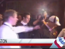 VIDEO: Santorum Gets Glitter Bombed in Iowa