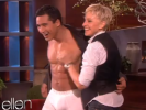 VIDEO: Mario Lopez Takes it Off for Ellen