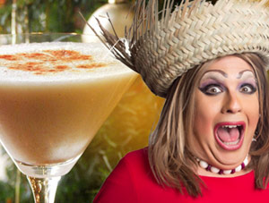 VIDEO: How To Make Coquito – Cooking with Drag Queens