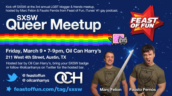 EVENT: SXSW Queer Meetup – 2012