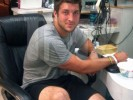 IMAGE: Tim Tebow Gets a Manicure in West Hollywood