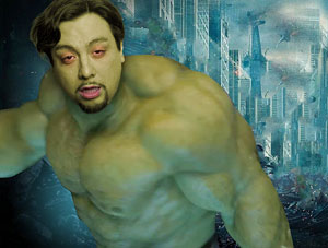 FOF #1579 - El Gay Incredible Hulk - 05.07.12