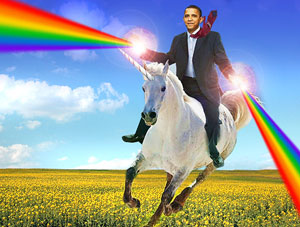 FOF #1582 - President Obama Rides the Rainbow Unicorn of Equality - 05.09.12