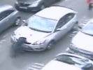 VIDEO: Driver Hits Passenger and Takes Him for Wild Ride