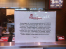 Chick-Fil-A's Lame Excuse