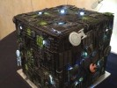 Delicious Borg Cube Wedding Cake