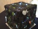 Delicious Borg Cube Wedding Cake