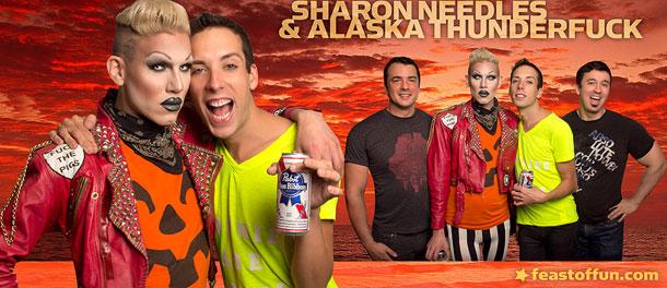 Classic Feast of Fun: Sharon Needles Loves Alaska Thunderfuck
