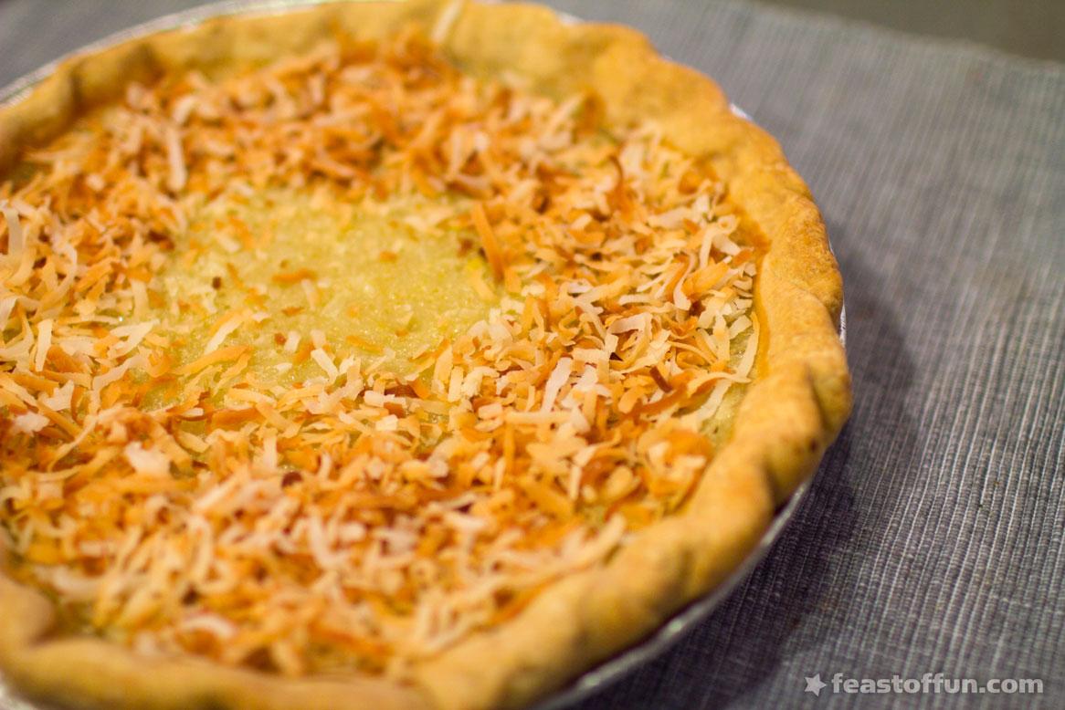 Bertha Mason's Baked Coconut Custard Pie « Feast of Fun