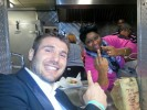 PHOTO: Black Woman Gives Ben Cohen the Finger