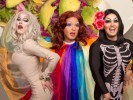 VIDEO: Cooking with Drag Queens, Sharon Needles & Asian Breakfast Tacos