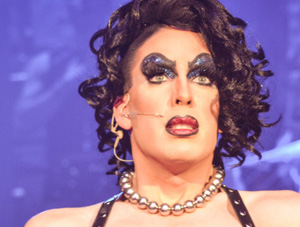 FOF #1880 - Alaska Rocks it as Dr. Frank N Furter - 10.15.13