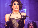 Whatever happened to Fay Wray? Alaska contemplates in Rocky Horror Show.
