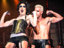 Alaska as Dr. Frank-N-Furter's biceps are almost as big as the guy playing Rocky.