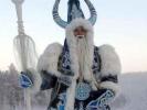 In Russia, Santa Claus is always in drag.