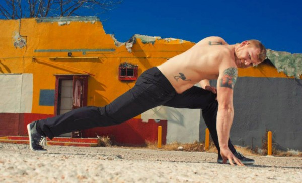 Sexy yoga teachers like JohnMark are a big reason why everyone wants to move to Austin, Texas. Photo: Celeste Danger.