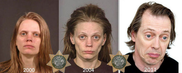 If you get addicted to meth, you become Steve Buscemi.