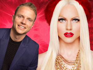 VIDEO: Courtney Act's Diva Medley