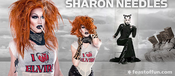 Sharon Needles - photos: Mathu Andersen