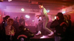 While doing Pee Wee Herman's Tequila dance will just save you from being murdered by a biker gang.