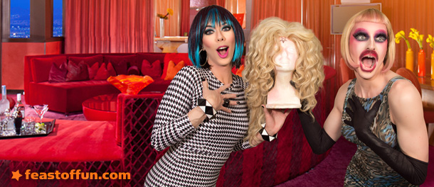 Cooking with Drag Queens – Artisanal Toast w/ Milk & Kelly Mantle