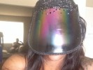 VIDEO: Madison Hinton Blings Up V. Stiviano's Rainbow Face Mask