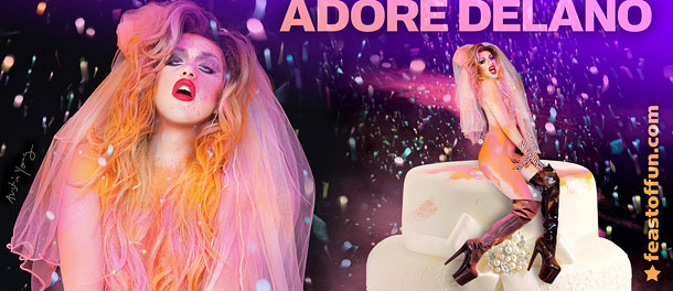 "Adore Delano is ready to party with her new album ""Til Death Do Us Part."" Photo: Austin Young."