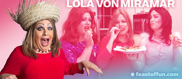 FOF #2017 – Lola Von Miramar and the Delicious Tostones