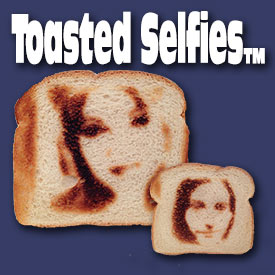 It's not a miracle. It's just toast.