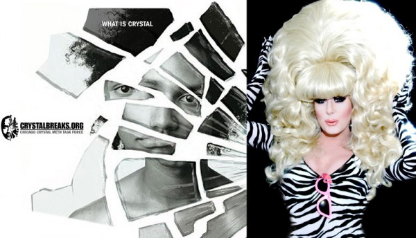 Remember when Lady Bunny was part of an anti-meth awareness campaign?