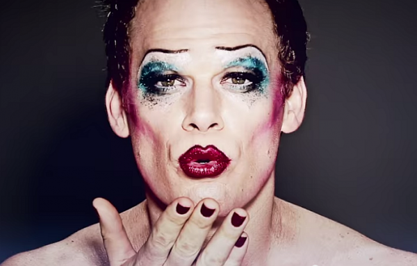 Still there's something wonderful about seeing your favorite celebrities face beaten with makeup and glitter. Photo courtesy of Hedwig on Broadway.