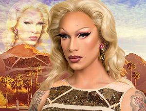 FOF #2141 - Miss Fame is Painted for the Gods - 03.30.15