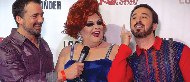 Fun on the Red Carpet at RuPaul's Drag Race Season 7 Premiere - Interviews