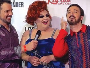 Fun on the Red Carpet at RuPaul's Drag Race Season 7 Premiere - Interviews