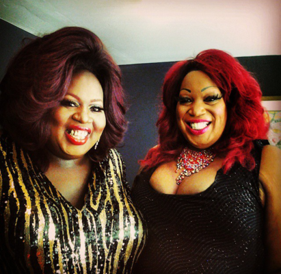 Latrice Royale and Lady Red Couture.