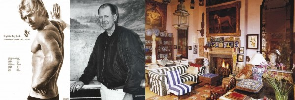 """Peter Hinwood had a couple of small parts in films following his performance in """"The Rocky Horror Picture Show, but quit acting shortly after. He is now an antiques dealer in London, and enjoys a quiet, peaceful life. He's rarely photographed. Here's a photo spread of his antiques and living room from a magazine in the 1990s."""