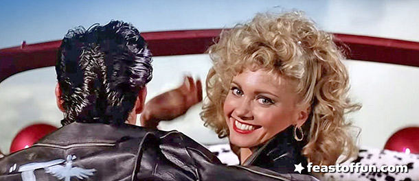 Many fans think Sandy and Danny were dead all along in Grease. Photo: Screengrab via LOS CHAVOS DEL 8 ON LINE / Youtube