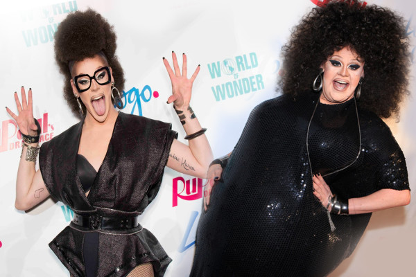 It's called a race for a reason! Thorgy Thor put on a fat suit for the NYC premiere last year, confusing the hell out of everyone. Photos: Thorgy Thor