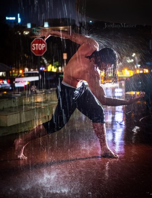 Dancer/actor Jason MacDonald is all wet, but we like it that way. Photo: Jordan Matter.