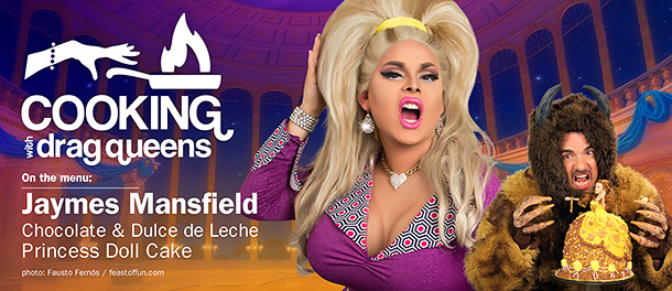Jaymes Mansfield with Marc Felion, photos: Fausto Fernós & Jeff Knutson.