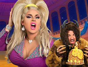 Jaymes Mansfield - Beauty & the Beast Princess Doll Cake
