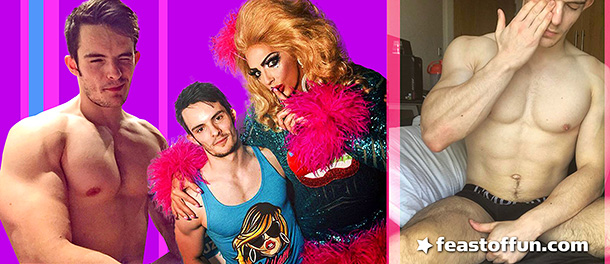 When he's not busy pumping iron in the gym, video editor Lee Dawson is busy pumping out remixes of his favorite TV show, RuPaul's Drag Race. Photos: Lee Dawson.