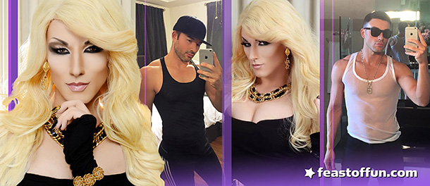 Sasha Soprano is a knockout in and out of drag. Photos courtesy of Sasha Soprano.