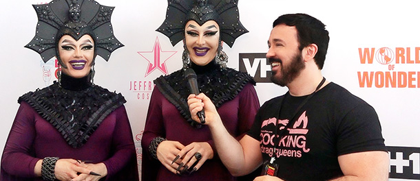 What terrifies a drag queen? Backstage with the Boulet Brothers from Dragula